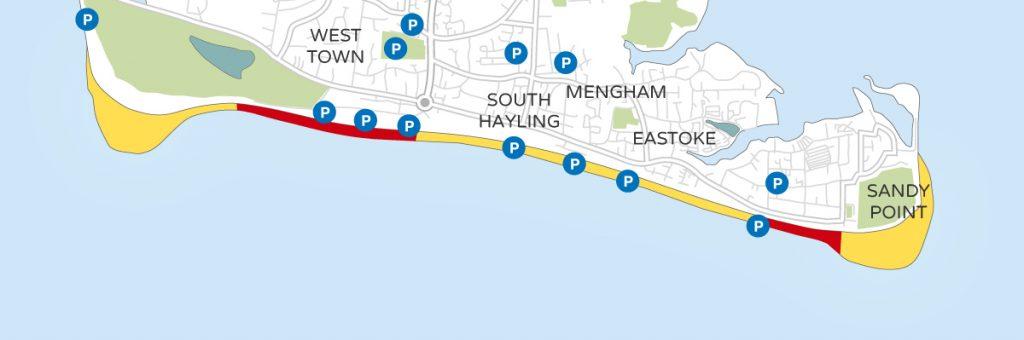 hayling-dog-walking-map