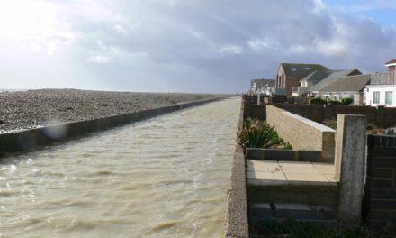 Flooding on Hayling Island