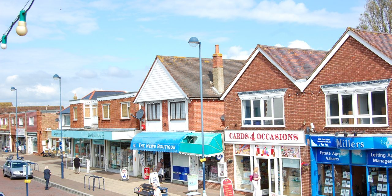 Shopping on Hayling Island