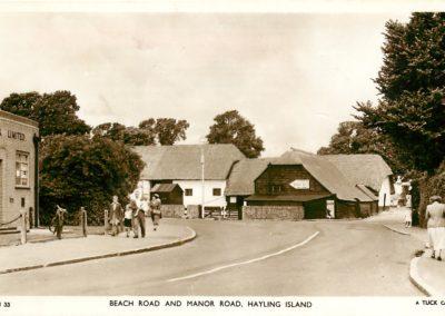 beach road manor road 1953